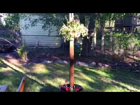 DIY Spring Project: Texas Lamp Posts for the Patio
