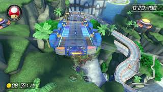 Big Blue [200cc] - 1:01.366 - ポッチ (Mario Kart 8 Deluxe World Record)