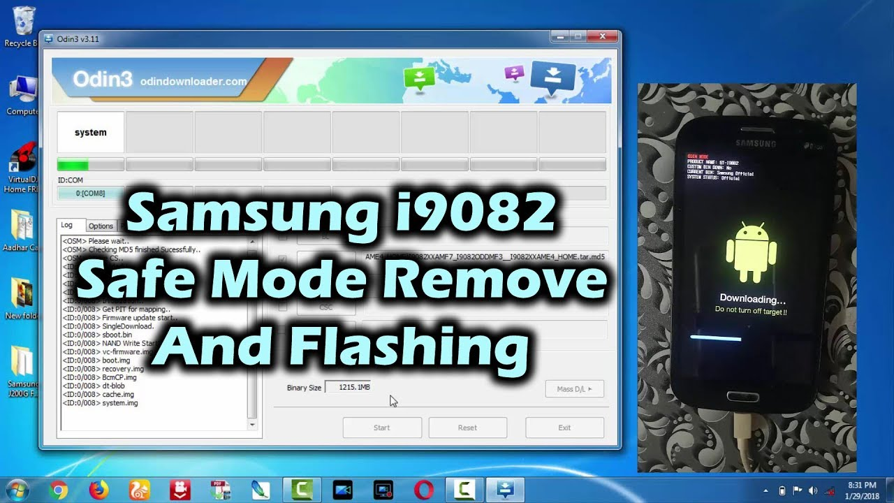 how to open samsung in safe mode