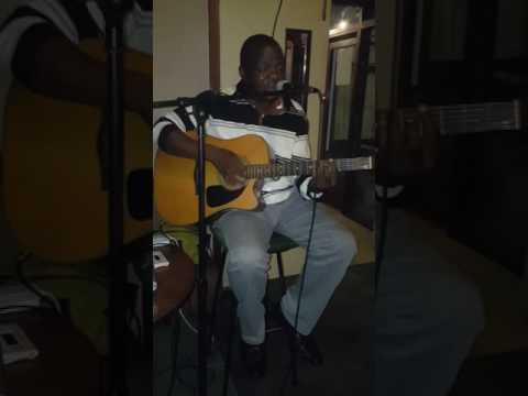 Steve Chikotie in action at the Wise Owl Hotel Karaoke Nights in Mutare