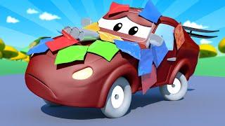 Автомойка Эвакуатора Тома - Спецвыпуск Снова в Школу - Малыш Джереми выглядит словно пиньята