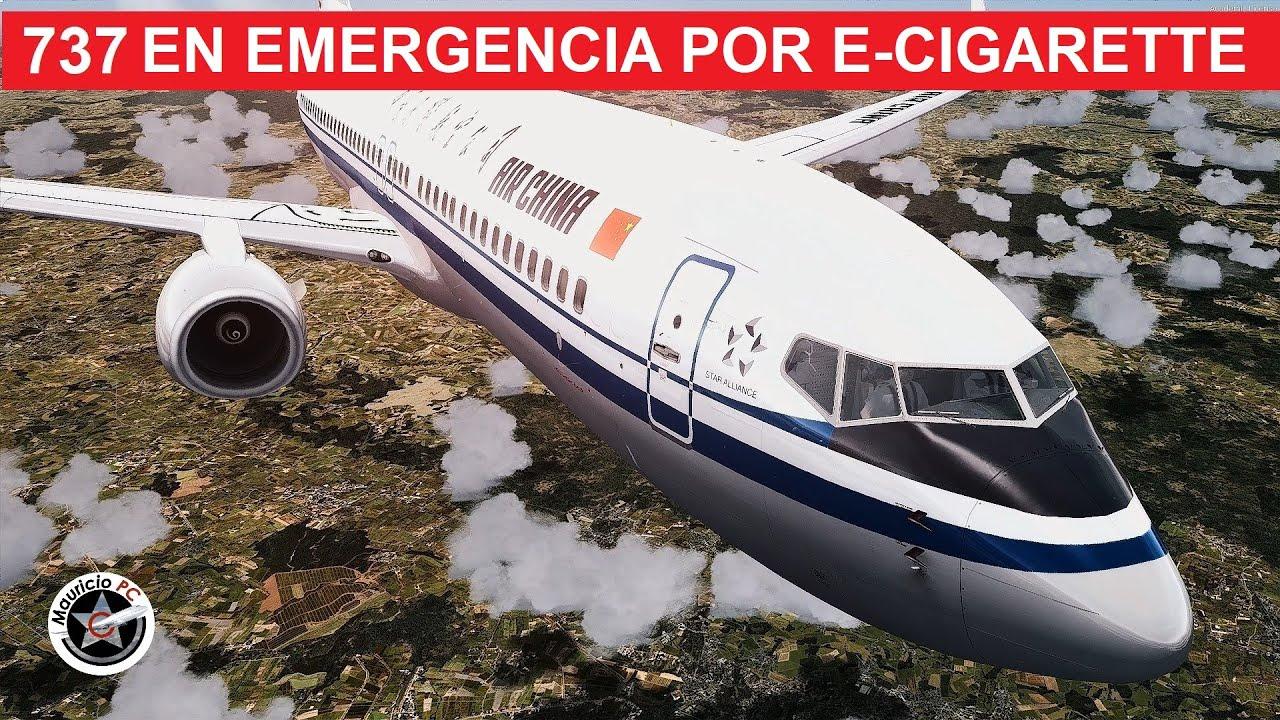 Boeing 738 entra en emergencia por piloto fumador - Vuelo AirChlna 106