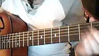 I want to grow old with you guitar lesson