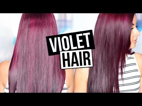 HOW TO GET VIOLET HAIR YouTube
