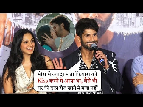 Shahid Kapoor Makes Fun On Ki$$ Scene With Kiara Advani and Insult His Wife Mira Rajput