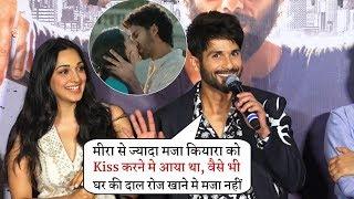 Shahid Kapoor Makes Fun On Ki Scene With Kiara Advani and Insult His Wife Mira Rajput