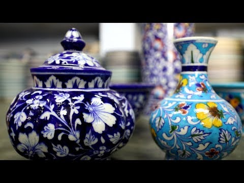 Jaipur's Blue Pottery