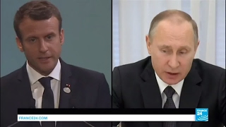 Macron Putin Meeting  Will the French and Russian presidents see eye on eye on any issue?