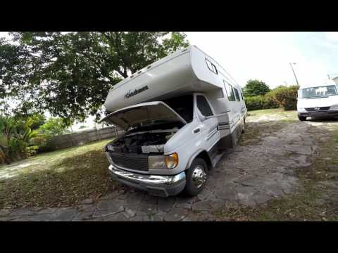 2000 coachmen santara 311sb ford e450 RV mobile home for sale west palm beach