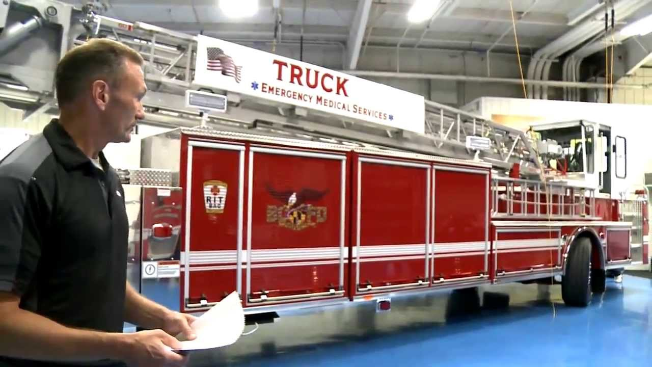Baltimore City Fire Department 100 Tiller Youtube