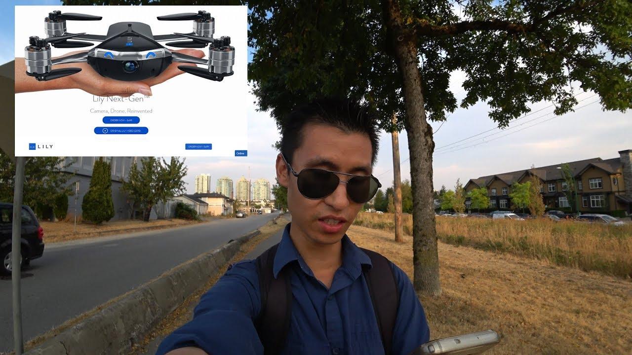 Квадрокоптер Lily Camera Drone - YouTube