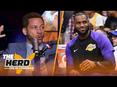 Chris Broussards win prediction for LeBrons Lakers, Talks Butler, Kawhi rumors | NBA | THE HERD
