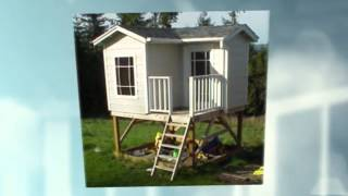 Free Playhouse Plans - 2 Story Playhouse