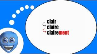 Французского видео урок = Прилагательных и наречий