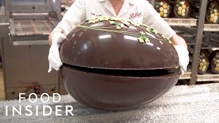 How This 13-Pound $600 Chocolate Egg Is Made | The Making Of thumbnail