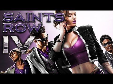 Стрим с Шедой SAINTS ROW 4
