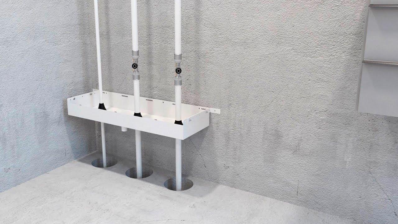 Prefabricerad schaktbotten förenklar installationen - LK Systems