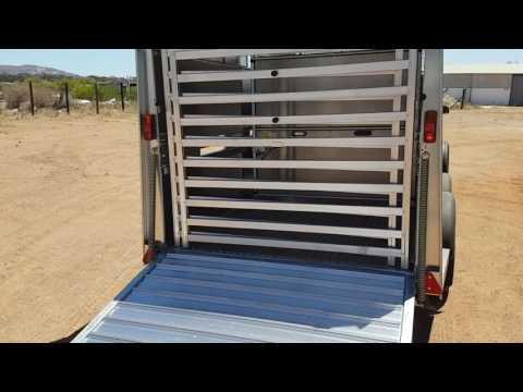Livestock Trailer Video