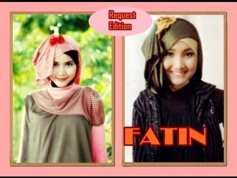 Pashmina Hijab Tutorial Inspired By Fatin Shidqia Running