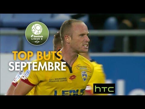 Top buts Domino's Ligue 2 - Septembre 2016/2017