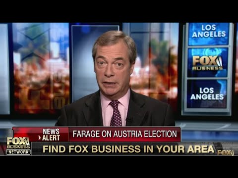 "Nigel Farage on Austria election ""Brexit was first brick out of the wall"" - 18th October 2017"