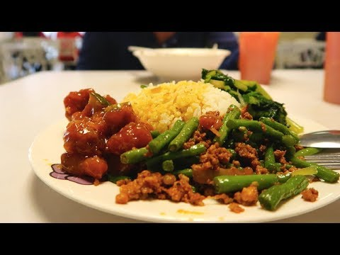 STAFF CANTEEN CHANGI AIRPORT- Changi Airport cheap food  | Singapore