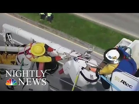 After Hurricane Irma, Largest Power Restoration Effort In U.S. History Begins   NBC Nightly News