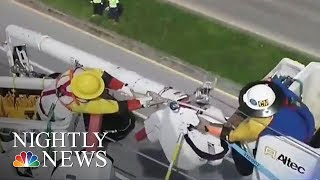 After Irma, Largest Power Restoration Effort In U S  History Begins | NBC Nightly News