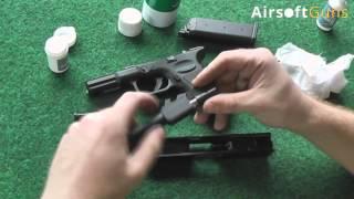 Video návody AirsoftGuns.cz - Základní údržba plynových pistolí