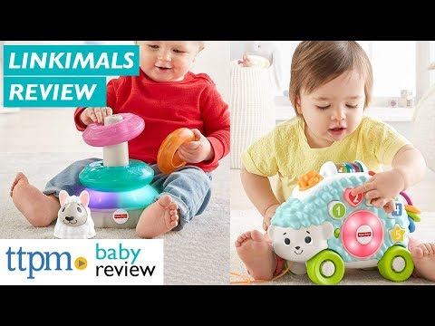 Linkimals Musical Moose Lights & Colors Llama Smooth Moves Sloth & Shapes Hedgehog From Fisher-Price