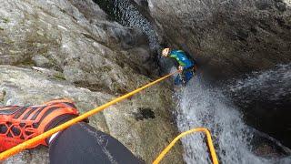 Canyons corse : une première réussie sur l'île de Beauté