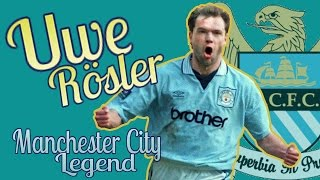 UWE RÖSLER - Manchester City legend