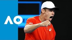 Alex de Minaur v Henri Laaksonen match highlights (2R) | Australian Open 2019