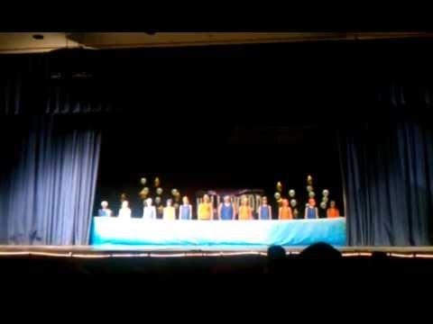 Laytonsville Elementary School 2012 Variety Show 5th Grade Synch Swim Act