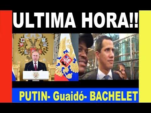 NOTICIAS Venezuela viernes 05 julio 2019 ★★ Putin HUNDE Guaidó★★ BACHELET le da con tobo a Maduro★★