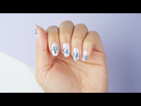 "OPI x Hello Kitty - ""Shine Bright"" DIY Nail Art Tutorial thumbnail"