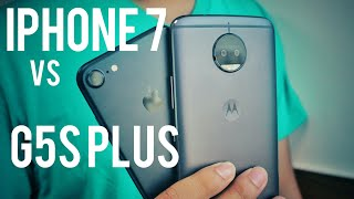 G5s Plus vs iPhone 7 - Camera Comparison | 2017