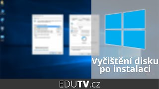 Jak vyčistit disk po upgradu na Windows 10? | EduTV