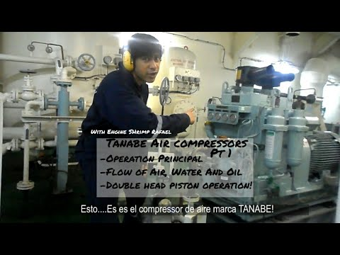 Air Compressors on Ships! Tanabe  - Operation and Flow
