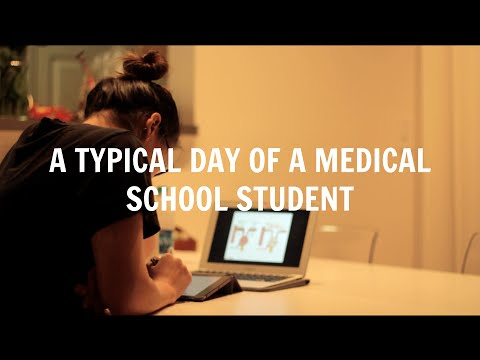 A Typical Day of a Medical School Student | Med School Student Day in the Life