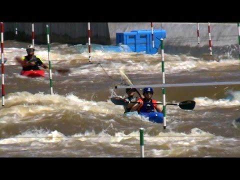 Riding Oklahoma City's whitewater rapids