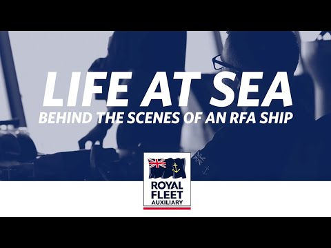 Behind the scenes of RFA Tiderace