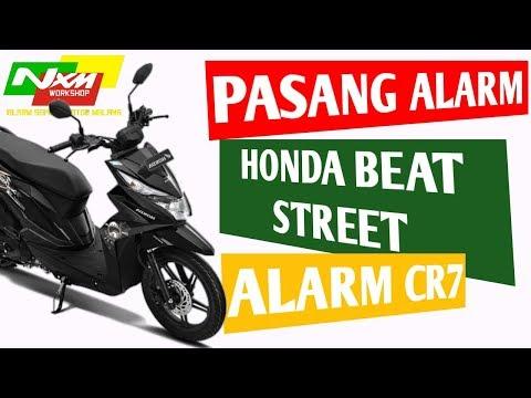 PASANG ALARM : HONDA BEAT STREET || ALARM CR7