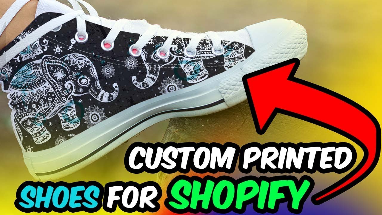 f37bc01b9693 Custom Printed Shoes For Shopify! - YouTube