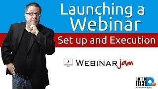 How to Deliver a Webinar using WebinarJam