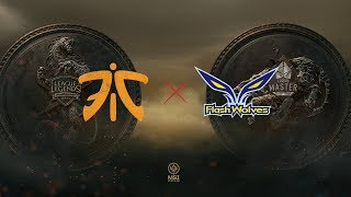 FNC vs. FW | Group Stage Day 4 | Mid-Season Invitational | Fnatic vs. Flash Wolves (2018)