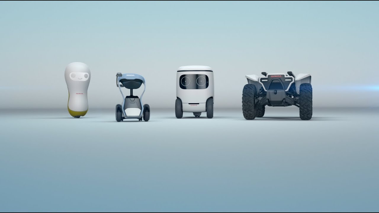 Honda เตรียมเปิดตัวไลน์หุ่นยนต์สุดน่ารัก 3E Robotics Concepts