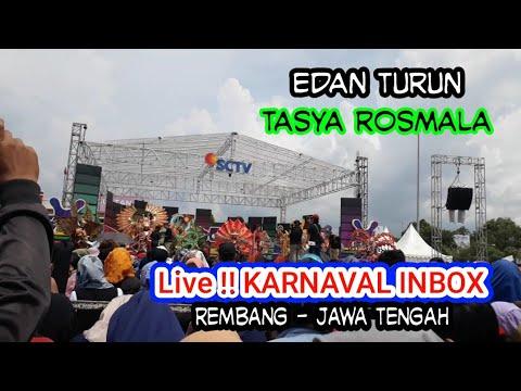 Tasya Rosmala - Edan Turun !! Live Karnaval Inbox Alun alun Rembang