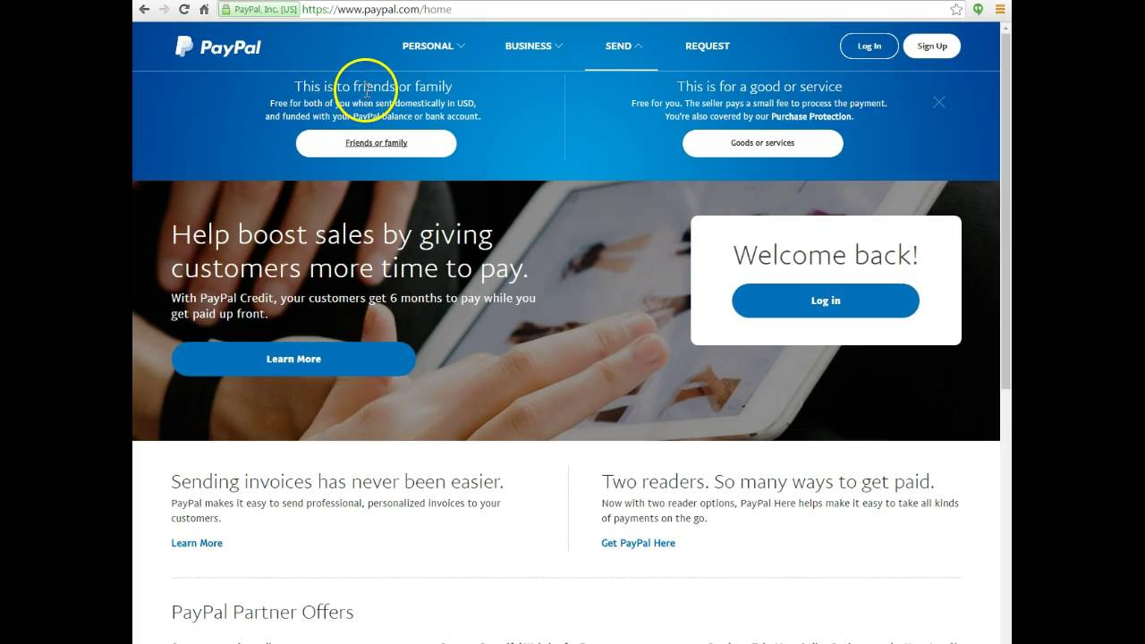 How to Send Money via Paypal to Friends and Family with No Fees