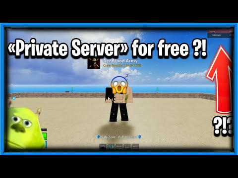 Work Get Free Private Server In Every Roblox Game Blox Fruits